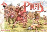 Picts Scotland Tribe from Roman Era (48) 1/72 Red Box