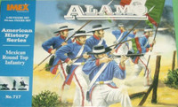 Alamo Mexican Round Top Infantry Figure Set 1/32 Imex