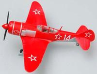 La7 #14 (Red) Russian Air Force Fighter WWII (Built-Up Plastic) 1/72 Easy Model