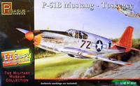 P-51B Mustang Tuskegee Airmen (Snap Kit) 1/48 Pegasus