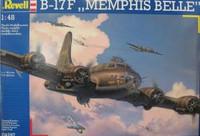 B-17F Memphis Belle Bomber 1/48 Revell Germany