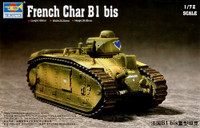 French Char B1 Heavy Tank 1/72 Trumpeter