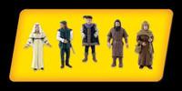 """Scene-A-Rama Scene Setters Castle Dweller Figures 1-1/2"""" (5pcs)"""