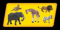 Scene-A-Rama Scene Setters African Wildlife Animals (5pcs)