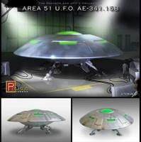 Area 51 UFO 1/72 Pegasus