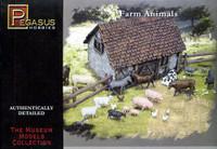 Farm Animals (64pcs) 1/72 Pegasus
