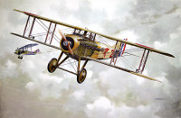 Spad VII c.I Early WWI Main French BiPlane 1/32 Roden
