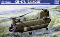 CH-47A Chinook Medium-Lift Helicopter 1/72 Trumpeter