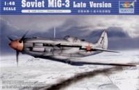 Soviet MiG3 Late Version Fighter 1/48 Trumpeter
