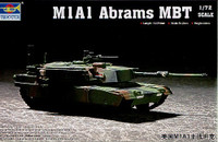 US M1/A1 Abrams Main Battle Tank 1/72 Trumpeter