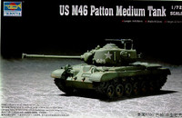 M-46 Patton Medium Tank 1/72 Trumpeter