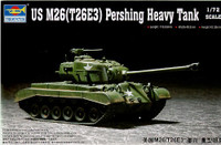 M-26 (T26E3) Pershing Heavy Tank 1/72 Trumpeter