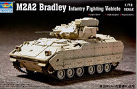 M2A2 Bradley Infantry Fighting Vehicle 1/72 Trumpeter