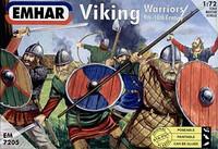 Viking Warriors 9th-10th Century (50) 1/72 Emhar