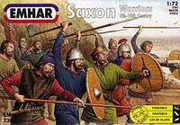 Saxons Warriors 9th-10th Century (50) 1/72 Emhar