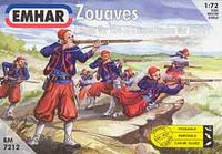 Zouaves Crimean War 1854-56 & Franco Prussian War 1870-71 (50) 1/72 Emhar