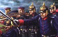 Prussian Infantry Franco Prussian War 1870-71 (50) 1/72 Emhar