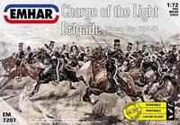 Charge of the Light Brigade Crimean War 1854-56 (18 Mounted Figures & 18 Horses) 1/72 Emhar