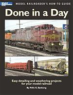 Model Railroader's How-To-Guide Done in a Day Kalmbach