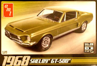 1968 Shelby GT 500 1/25 AMT