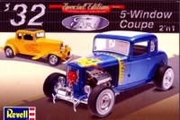 1932 Ford 5-Window Coupe (2 in 1) 1/25 Revell Monogram