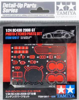 SC430 2006 GT Car Photo-Etched Detail Set 1/24 Tamiya