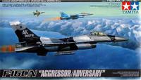 F-16C/N Aggressor/Adversary Multi-Purpose Jet Fighter 1/48 Tamiya