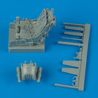 MiG-29A Ejection Seat w/Safety Belts 1/32 Quickboost