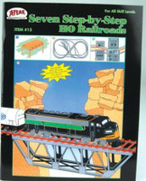 HO Seven Step-By-Step to HO Railroads Book