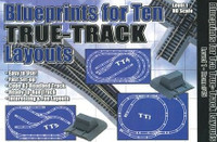 HO Blueprints for 10 True-Track Layouts Book
