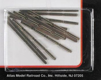 N Code 80 Nickel Silver Rail Joiners (6 pack of 48 pieces) Atlas Trains