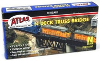 N Deck Truss Bridge Atlas Trains