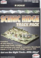 N Code 80 Scenic Ridge Track Pack Atlas Trains