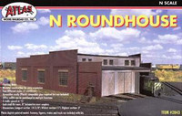 Roundhouse 3-Stall Kit N Scale Atlas Trains