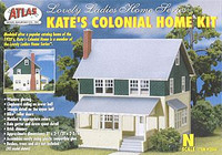 Kate's Colonial Home Kit N Scale Atlas Trains
