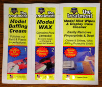 The Treatment Model Wax Kit for Model Cars
