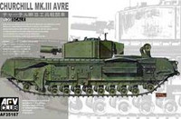 Churchill Mk III (AVRE) Tank 1/35 AFV Club
