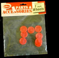 "Plastic Wheels 1"" (8) Guillows"