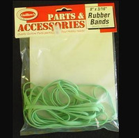 "Rubber Bands 8"" x 3/16"" (10) Guillows"