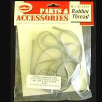 "Rubber Thread 96"" x .03"" x 3/16"" Guillows"