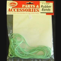 "Rubber Bands 7"" x 3/32"" (10) Guillows"