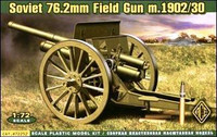 Soviet 76.2mm Mod. 1902/1930 Field Gun w/Limber 1/72 Ace Models
