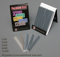Micro Mesh Polishing Stix Set (5 Sets/pk) (6pc/pk Different Grits) Scale Motorsport