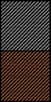 Comp. Carbon Fiber Decal Black on Bronze 1-43 1-48 Scale Motorsport