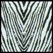 Comp. Fiber Decal Zebra Pattern Black & Clear (1970's) 1/24 Scale Motorsport