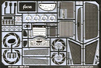 Ford Focus WRC Photo-Etch Detail Set (For TAM) 1/24 Scale Motorsport