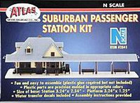 Passenger Station Kit N Scale Atlas Trains