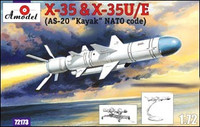 Kh-35 & Kh-35U/E (AS-20 Kayak NATO Code) Soviet Guided Missiles 1/72 A-Model