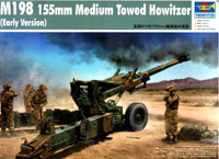 M-198 155mm Medium Towed Howitzer (Early Version) 1/35 Trumpeter
