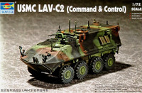 USMC LAVC2 Light Armored Command & Control Vehicle 1/72 Trumpeter